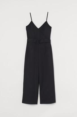 H&M Belted Jumpsuit