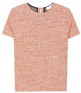 Victoria Beckham Cotton And Virgin Wool-blend Top