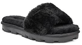 UGG Women's Cozette Fur Slide Sandals