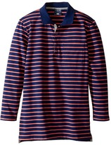 Toobydoo Cameron Long Sleeve Polo (Toddler/Little Kids/Big Kids)