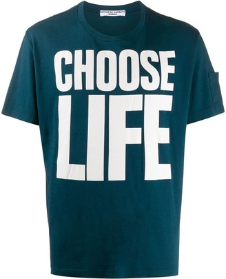 Katharine Hamnett Choose Life print T-shirt