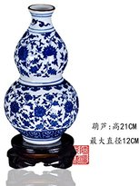 JHDH2 Pottery antique porcelain vases small Chinese home decor bar lounge with crafts in general, tanks, glazed port Leopards