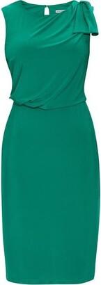 Gina Bacconi Estefani Jersey Dress With Shoulder Tie