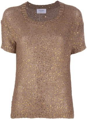 Snobby Sheep Sequin Embroidered Top
