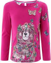 Monsoon Bobbie Bear Long Sleeve Top