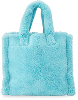 Stand Teddy Faux-Fur Medium Tote Bag