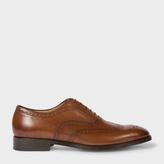 Paul Smith Men's Tan Parma Calf Leather 'Morley' Brogues