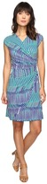 Tommy Bahama Salvador Stripe Short Dress Women's Dress