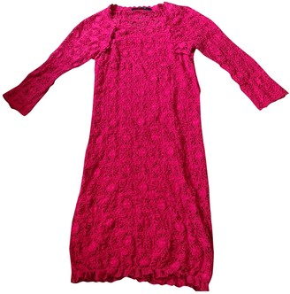 Isabel Marant Red Lace Dresses