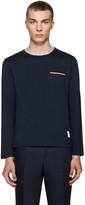 Thom Browne Navy Pocket T-Shirt