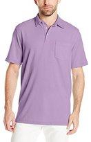 Izod Men's Short Sleeve Chatham Clique Self Collar Polo