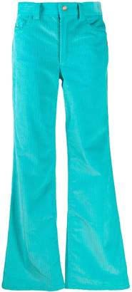 Marc Jacobs corduroy flared trousers
