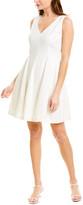 Taylor Linen-Blend A-Line Dress