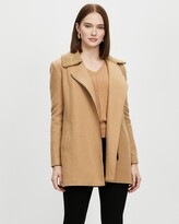 Thumbnail for your product : David Lawrence Women's Coats - Nina Felted Wool Coat - Size One Size, 14 at The Iconic