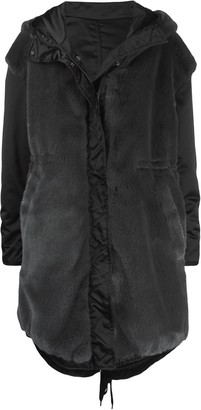 No.21 Reversible Oversized Parka Coat