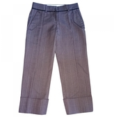 Louis Vuitton Brown Wool Trousers