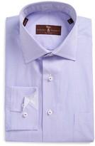 Robert Talbott Men's Estate Classic Fit Stripe Dress Shirt