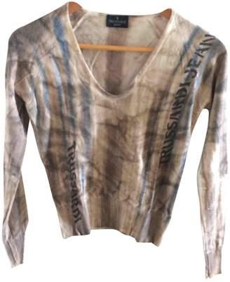 Trussardi Jeans Beige Cotton Top for Women