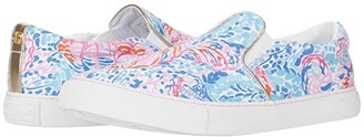Lilly Pulitzer Julie Sneaker (Multi Treasure Trove Accessories Small) Women's Slip on Shoes