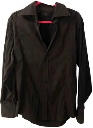 Gucci Black Cotton Shirts