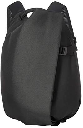cote&ciel Isar Small Backpack (Black/Eco Yarn) Backpack Bags