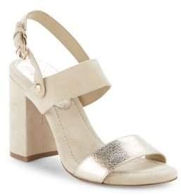 Joie Lakin Suede Block Heel Sandals