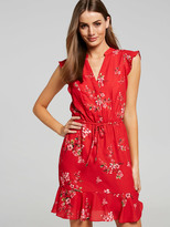 Portmans Lady In Red Shirt Dress
