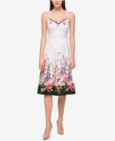 Jessica Simpson Floral-Print Fit & Flare Dress