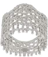Aurelie Bidermann 18kt white gold Vintage Lace diamond ring