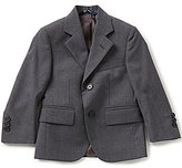 Brooks Brothers Little/Big Boys 4-12 Wrinkle-Resistant Two-Button Suit Jacket