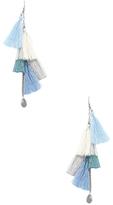 Chan Luu Multi Tassel Drop Earrings