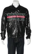 Gucci Web-Trimmed Windbreaker Jacket