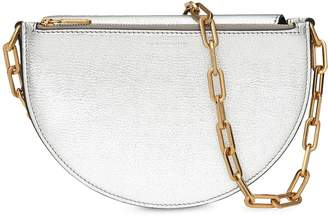 Burberry The Small Metallic Leather D Bag