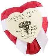 Gianna Rose Atelier Scarlet Red Tissue Heart Soap - Citrus