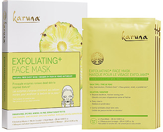 Karuna Exfoliating+ Mask 4 Pack.