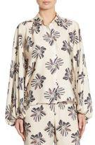 Alexis Keren Floral Oversized Blouse