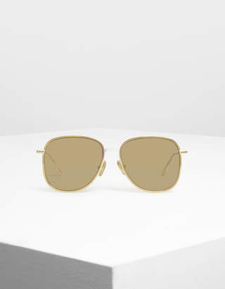 Charles & Keith Classic Wire Framed Aviators