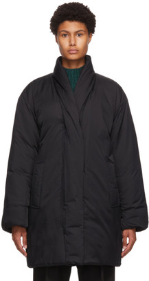 3.1 Phillip Lim Black Long Duvet Parka Coat