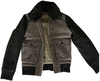 Paul & Joe Brown Wool Coat for Women
