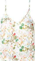 Tonello floral print vest top