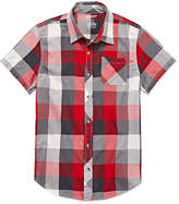 Arizona Boys Short Sleeve Button-Front Shirt - Boys 8-20 and Husky