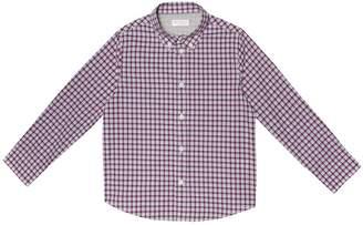 Brunello Cucinelli Kids Checked cotton shirt