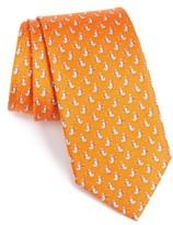 Salvatore Ferragamo Men's Seagulls Silk Tie
