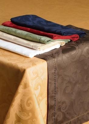 "Sferra Plume Jacquard 70"" x 126"" Tablecloth"