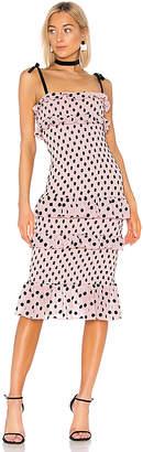 LPA Fiorella Midi Dress