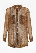 Great Plains Sheer Chiffon Shirt