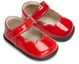 See Kai Run Baby's Patent Leather Scalloped Mary Jane Flats