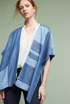 Cloth & Stone Denim Patchwork Kimono