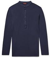 Barena - Nalin Cotton-jersey Henley T-shirt