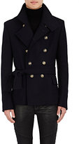 Balmain MEN'S VIRGIN WOOL PEACOAT